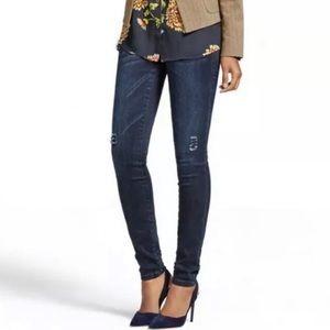 CAbi dusk destructed curvy skinny jeans 8 • #3194